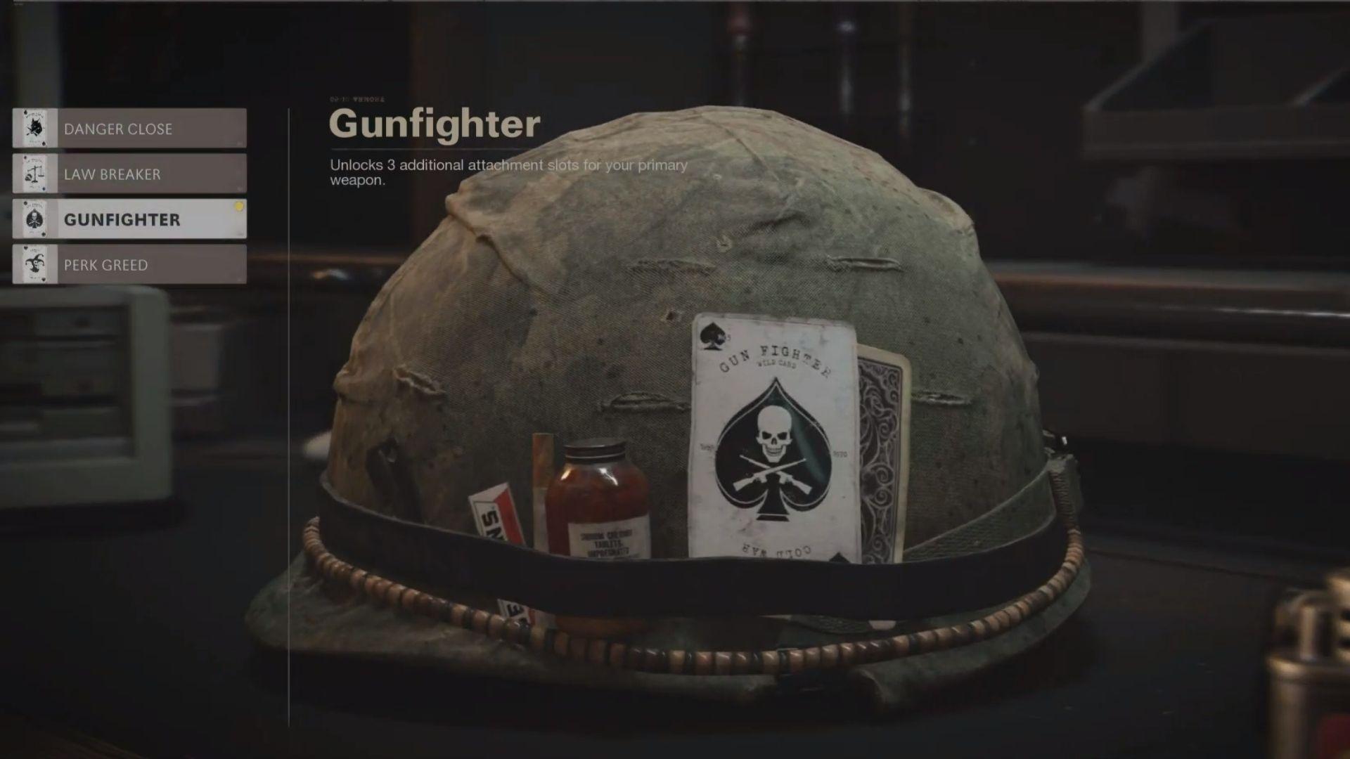 gunfighter wildcard in black ops cold war
