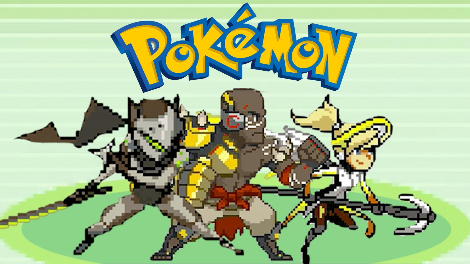 pokemon overwatch crossover