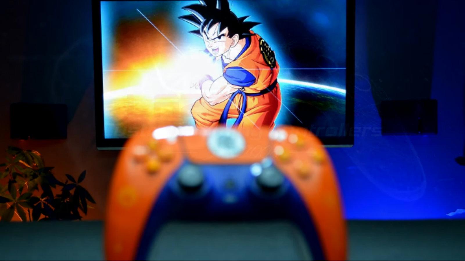 First-ever custom Dragon Ball Z controller