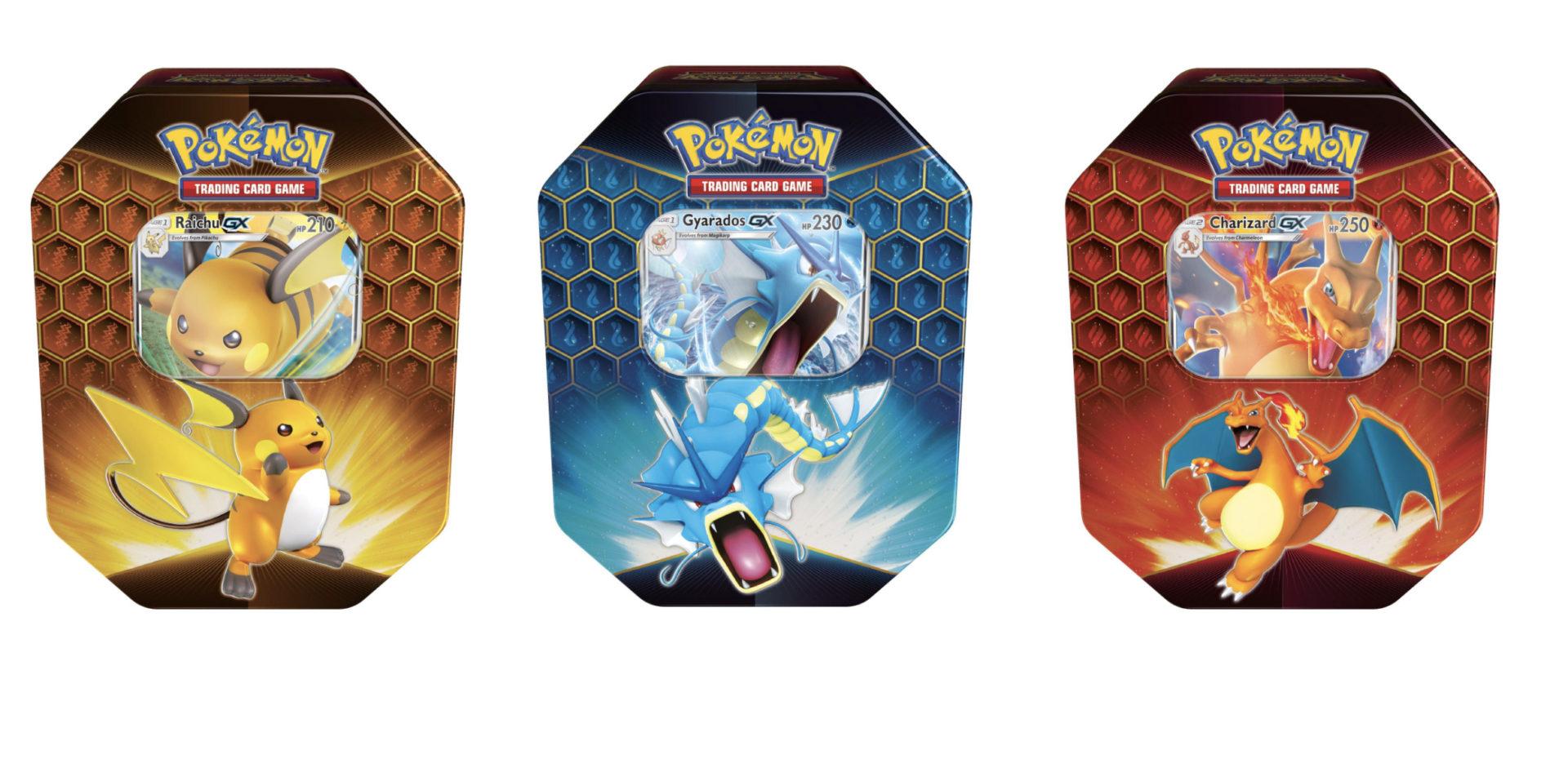 hidden fates pokemon tcg tins