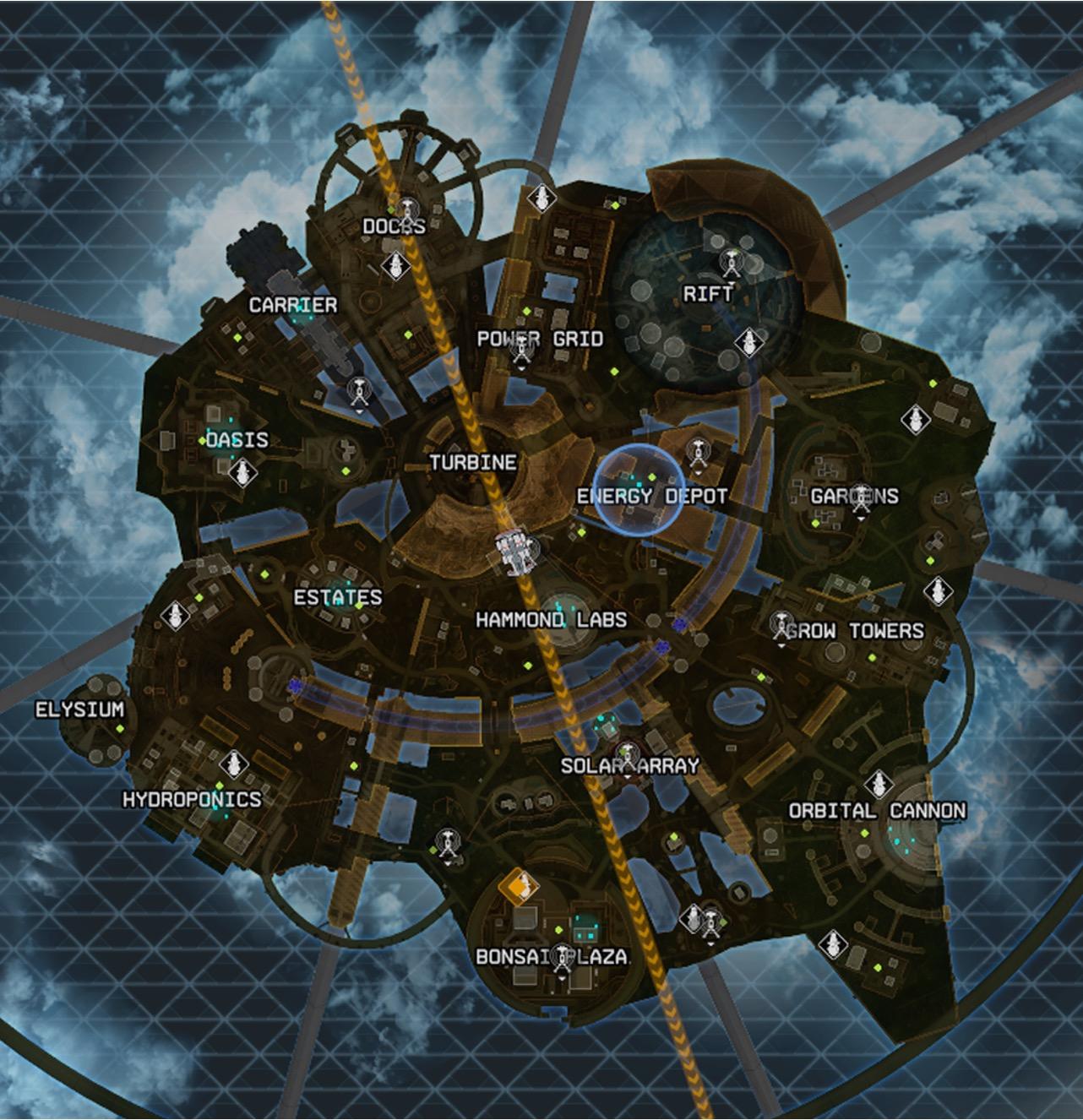 Apex Legends Season 7 map