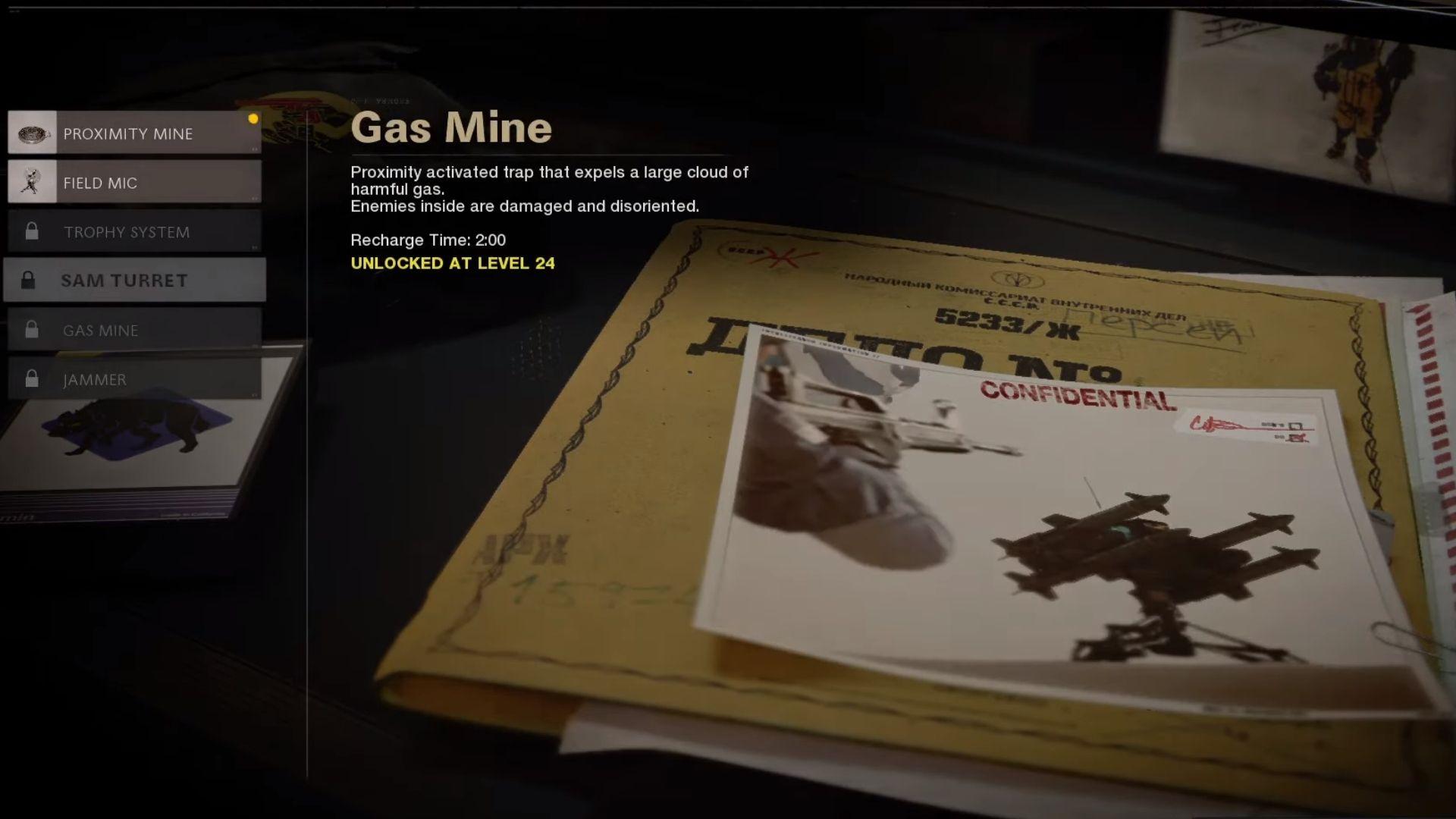 gas mine in cold war black ops