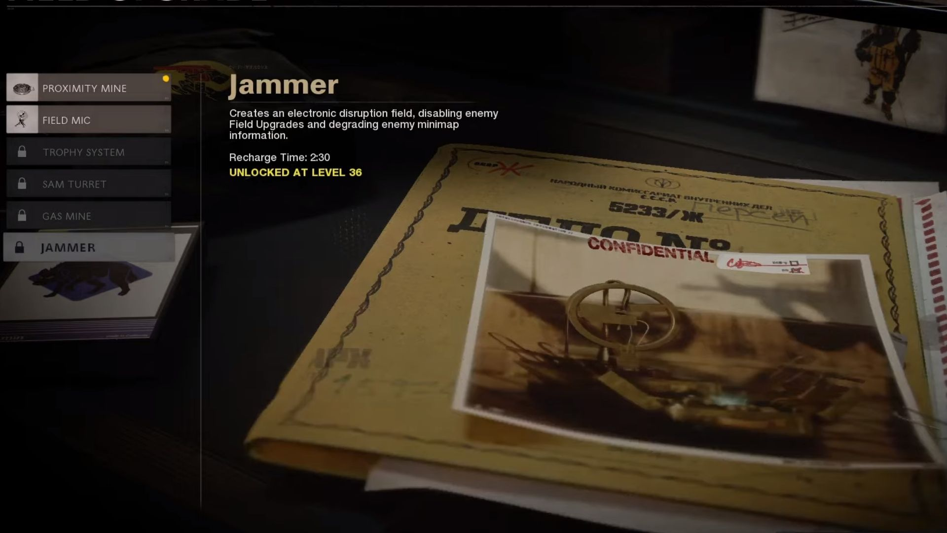 jammer in black ops cold war
