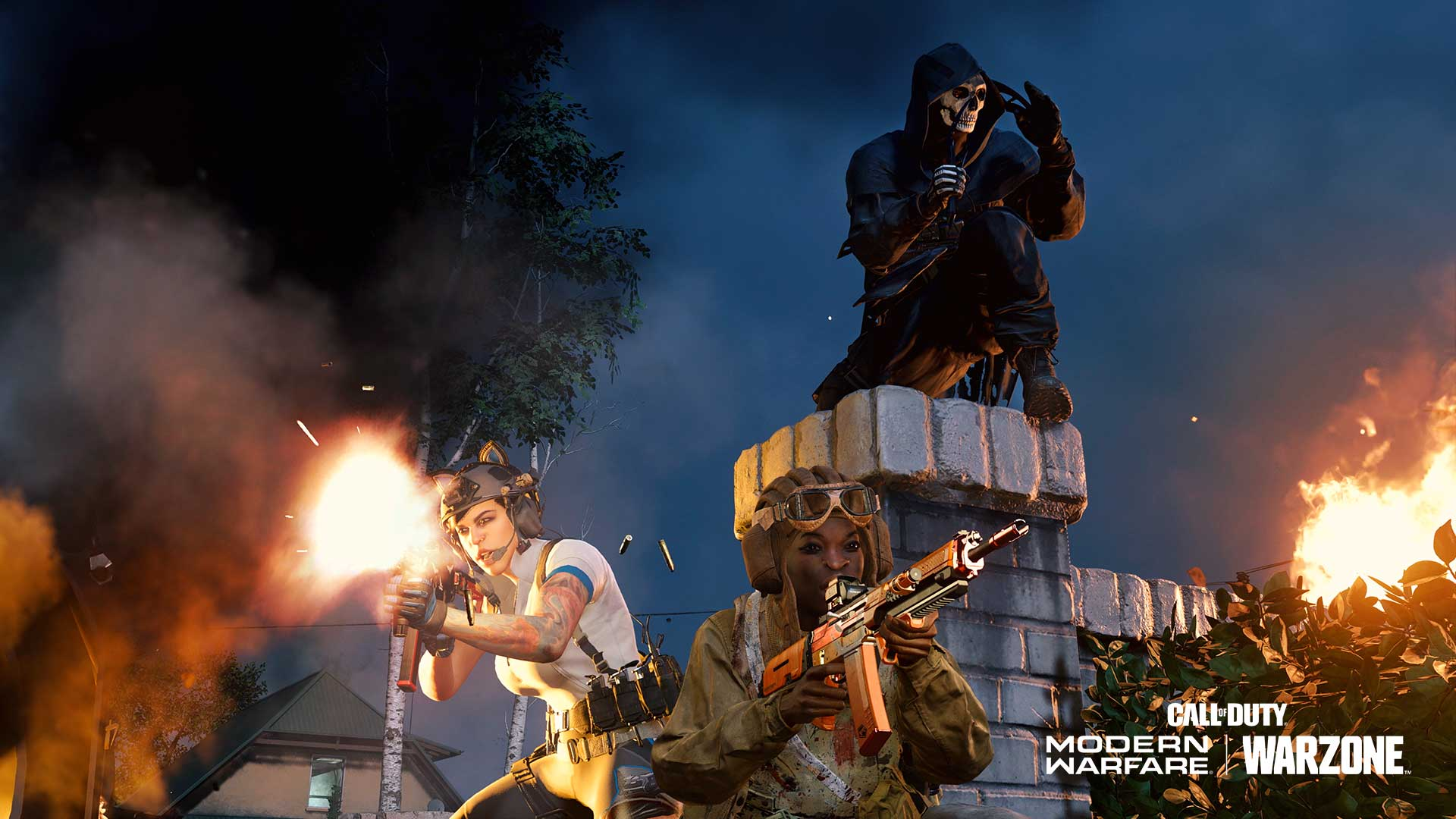 Warzone night mode