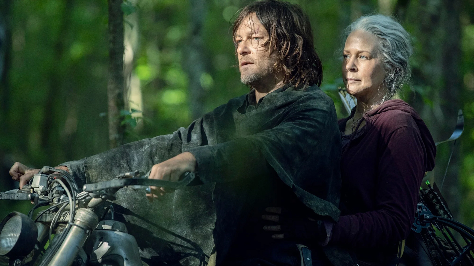 Daryl and Carol in The Walking Dead