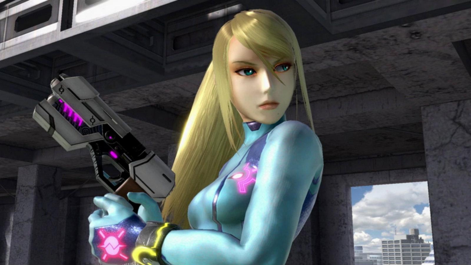 Zero Suit Samus in Smash Ultimate