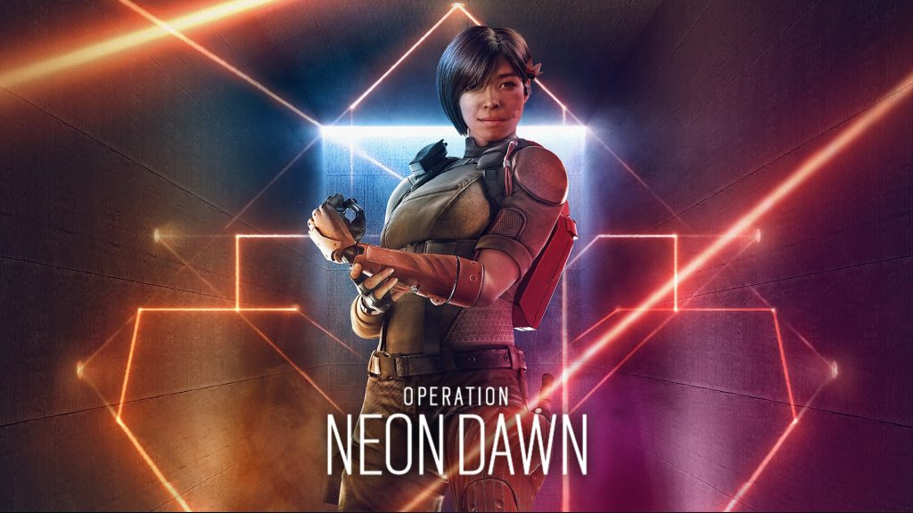 Operation Neon Dawn header for Rainbow Six Siege