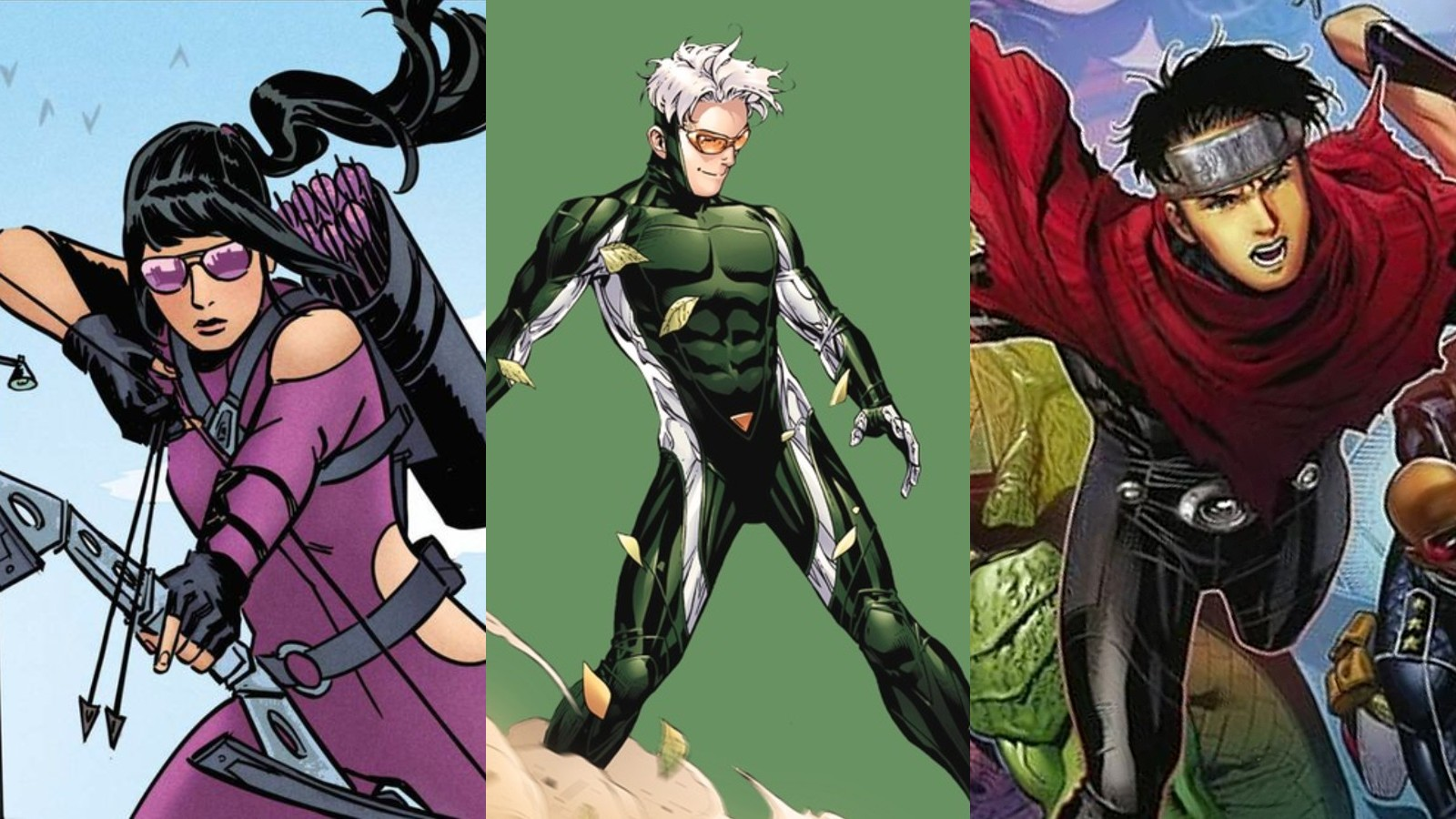 Kate Bishop, Speed and Wiccan