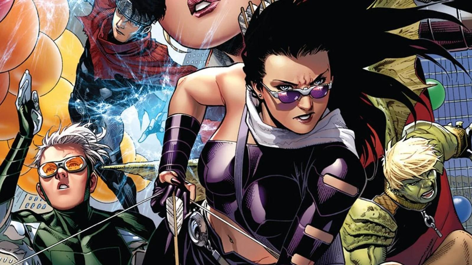 Young Avengers comics