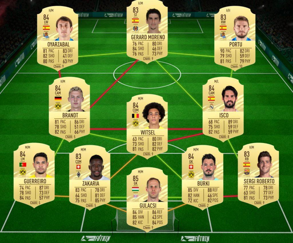 Isco Real Madrid SBC solution