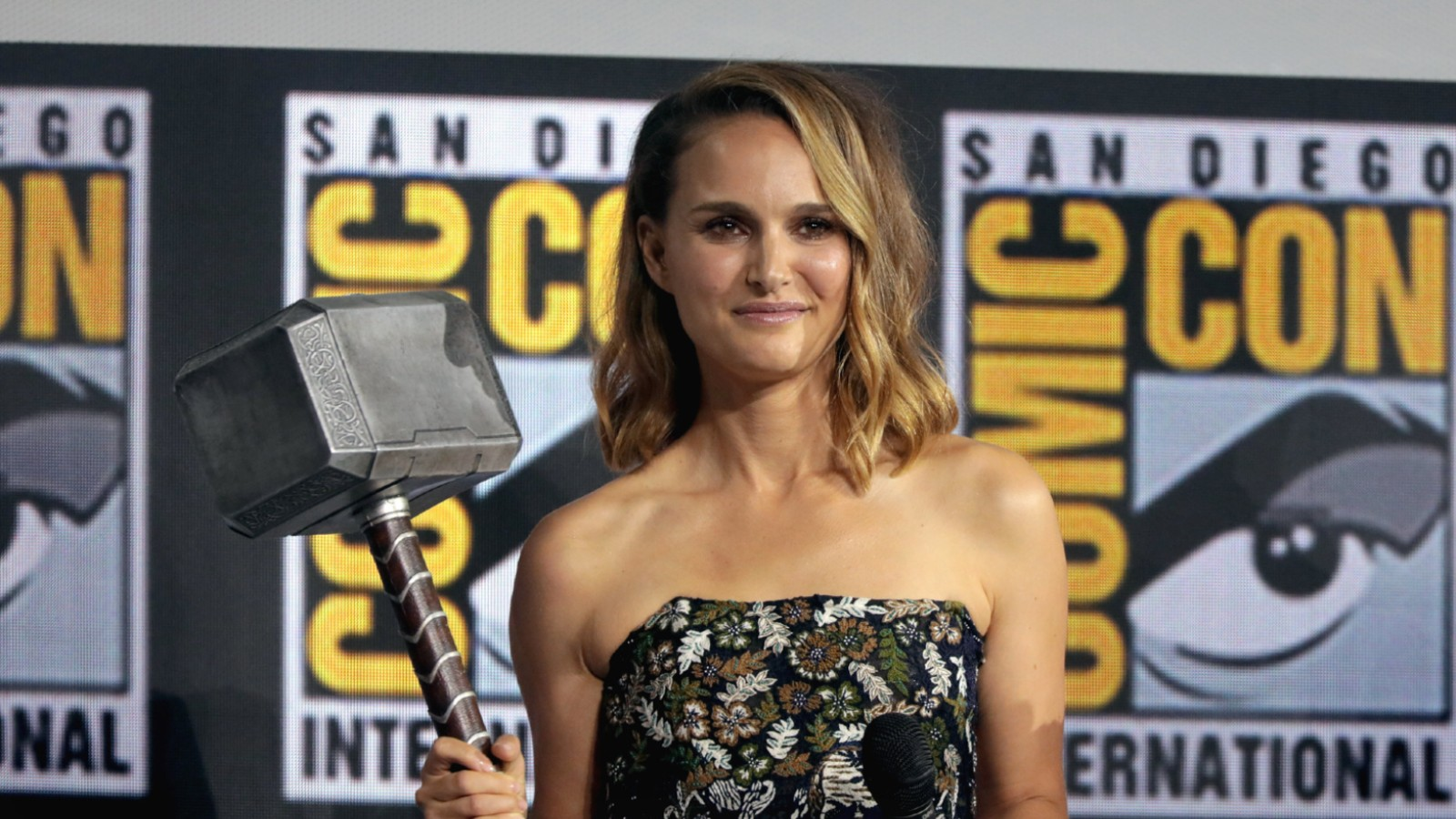 Natalie Portman at San Diego Comic Con
