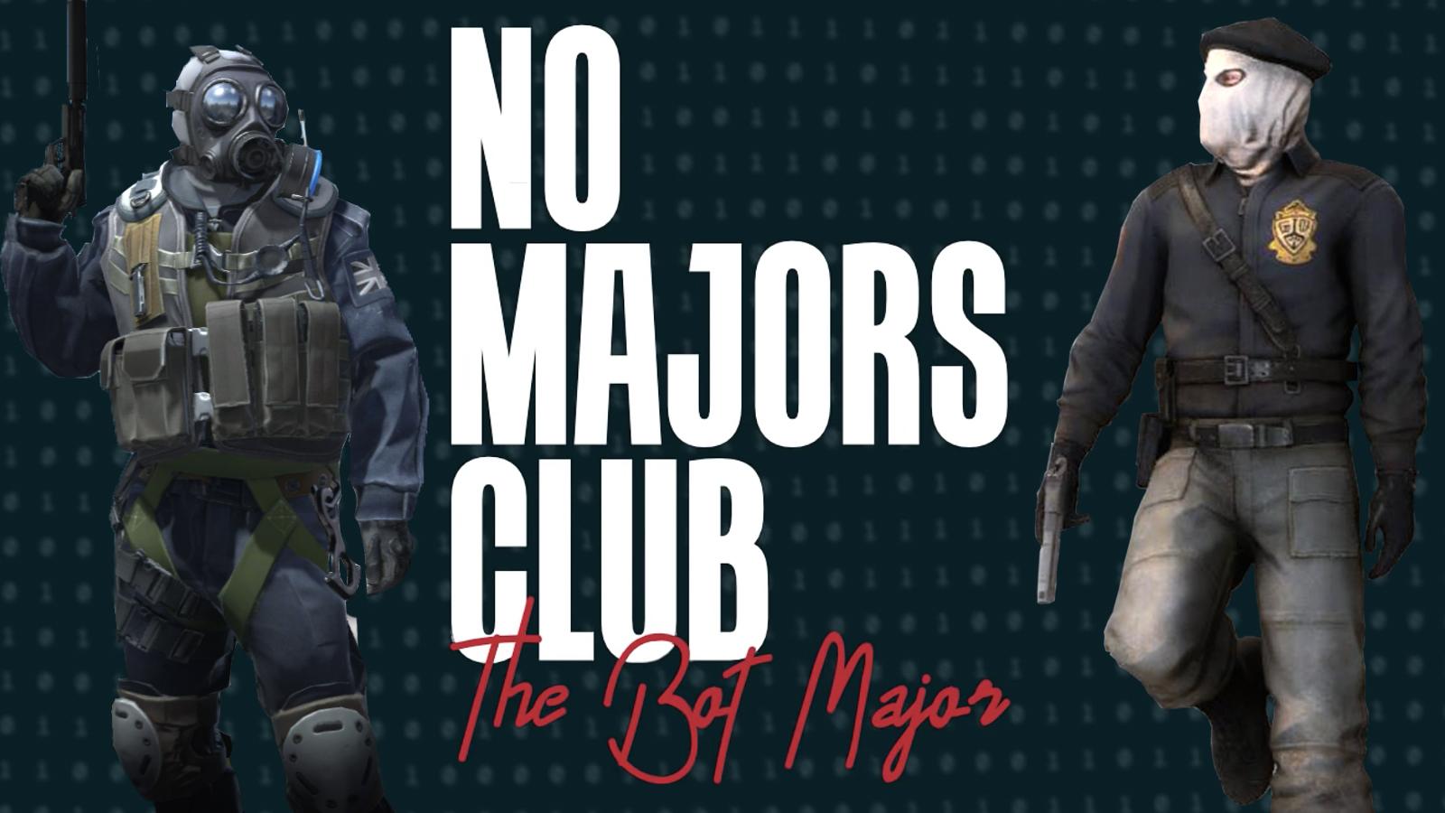 The No Majors Club Both Major logo