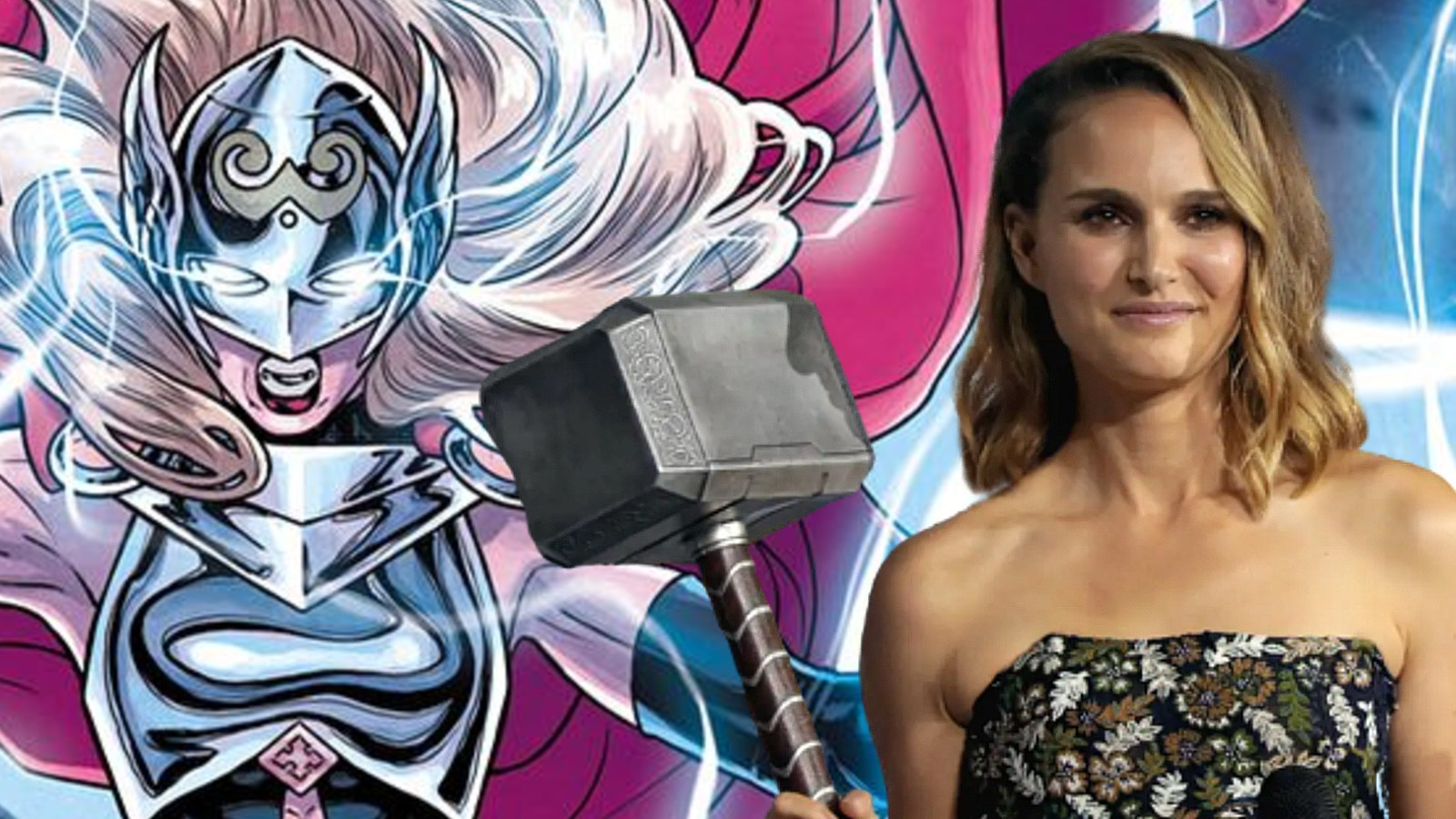 Natalie Portman as The Might Thor