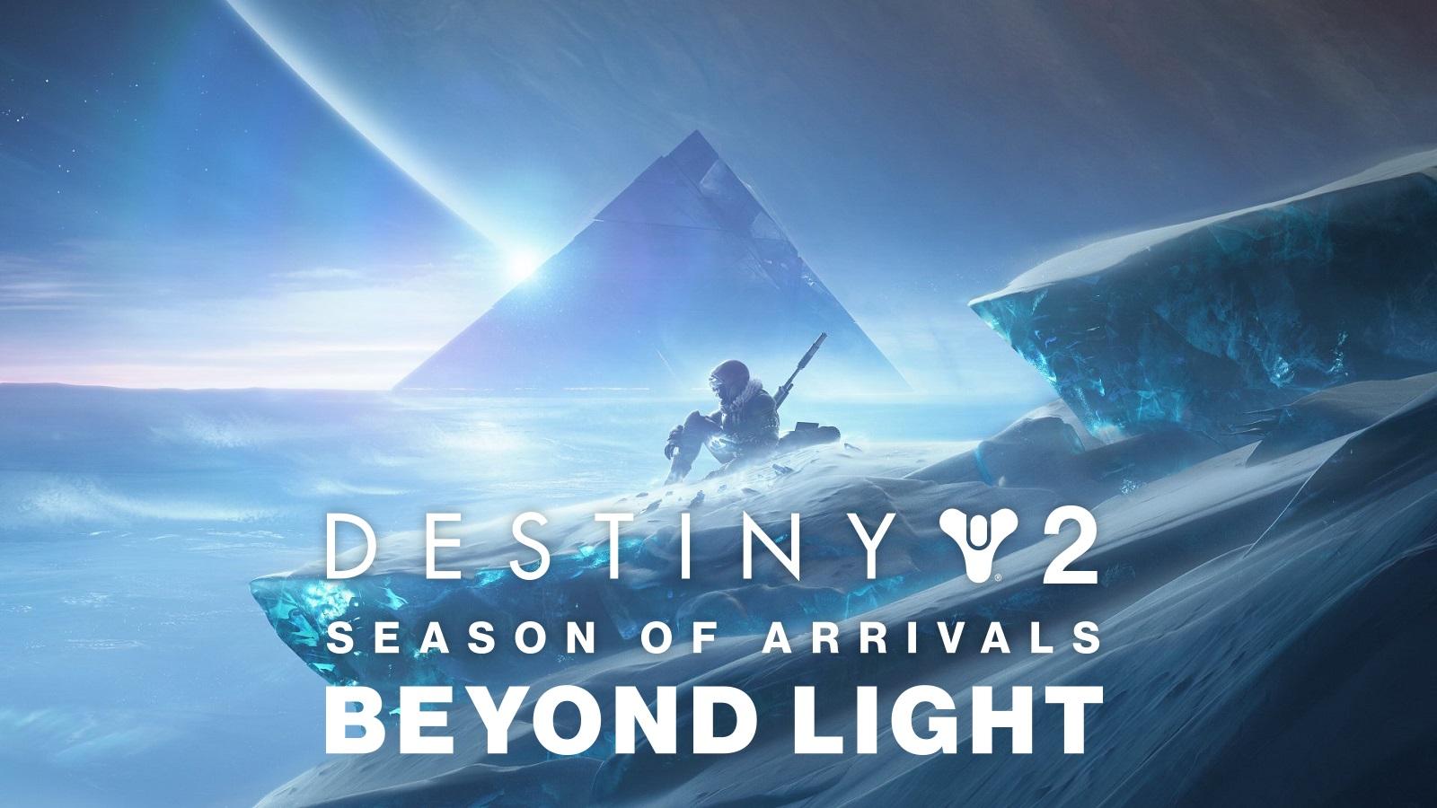 Destiny 2 Beyond Light Exo Stranger Season of Arrivals