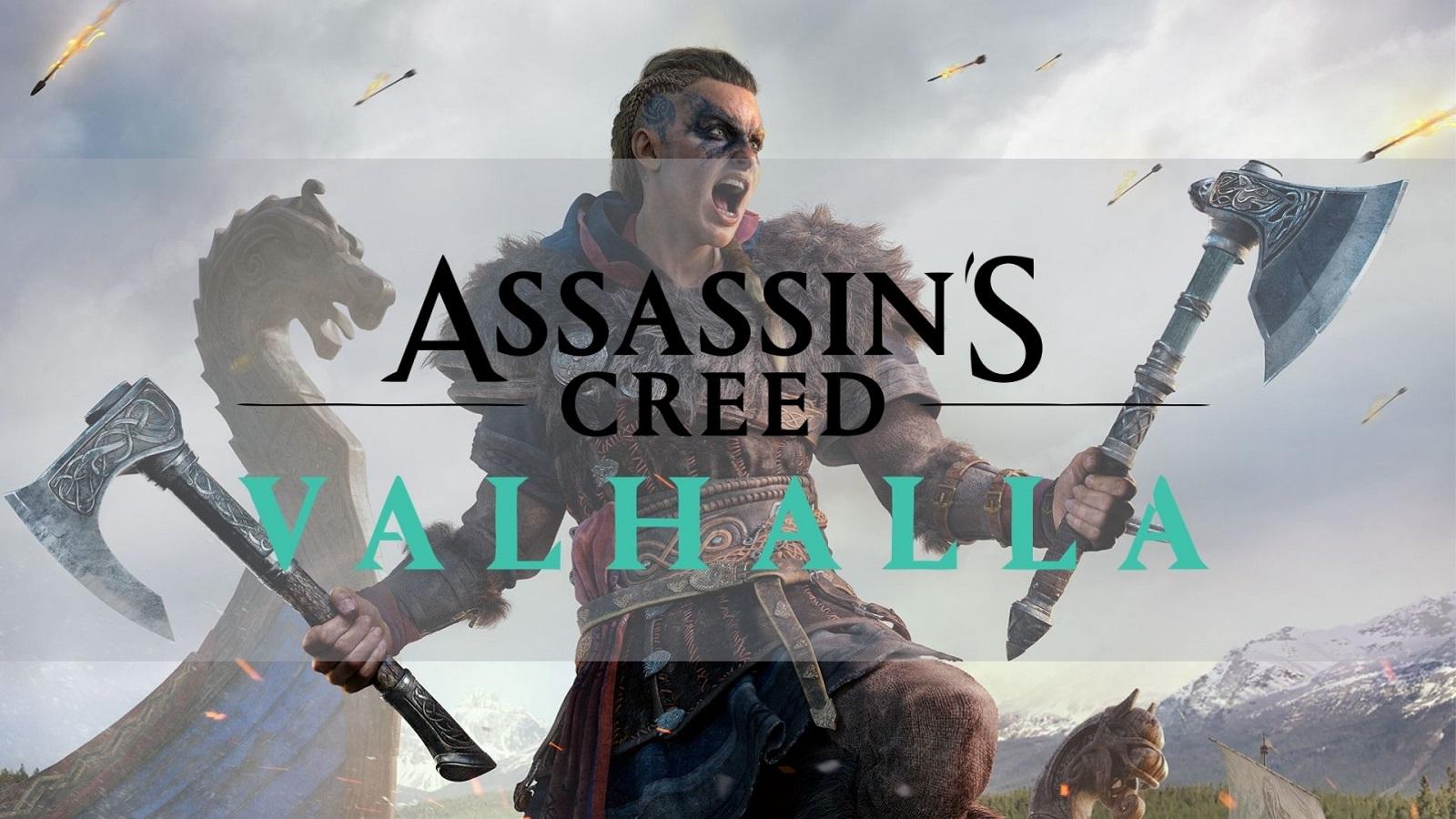 Assassin's Creed Valhalla official art