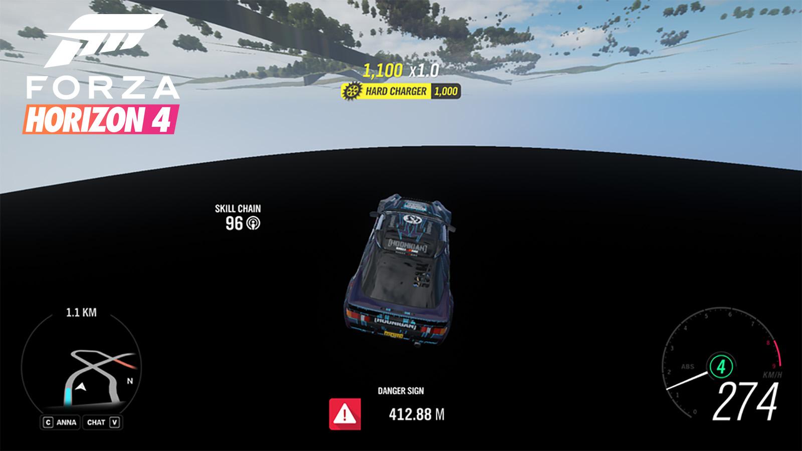 Forza Horizon 4 map glitch logo