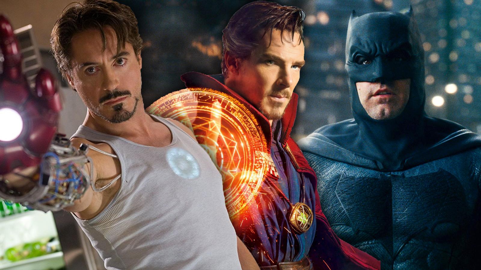 Iron Man Doctor Strange and Batman