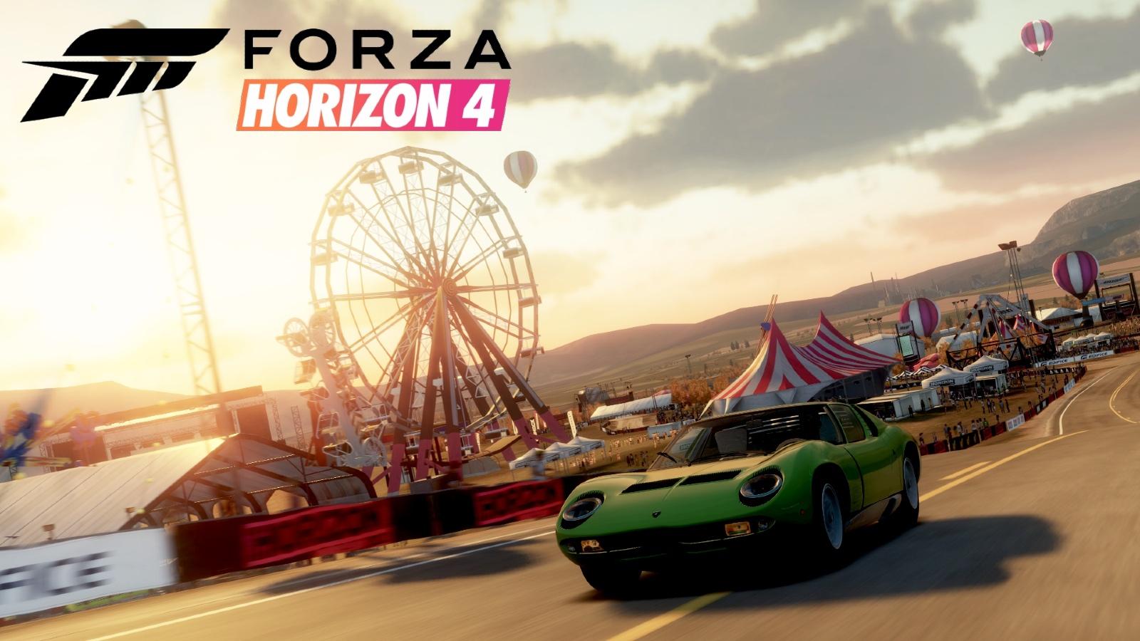 Forza Horizon Festival fence