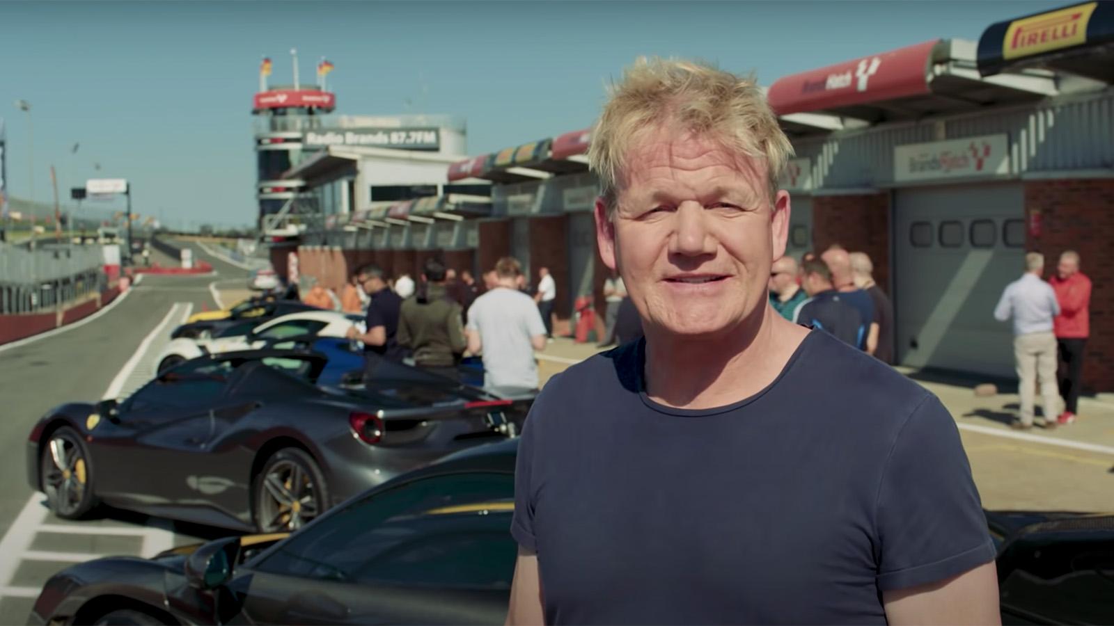 Gordon Ramsay's supercar collection