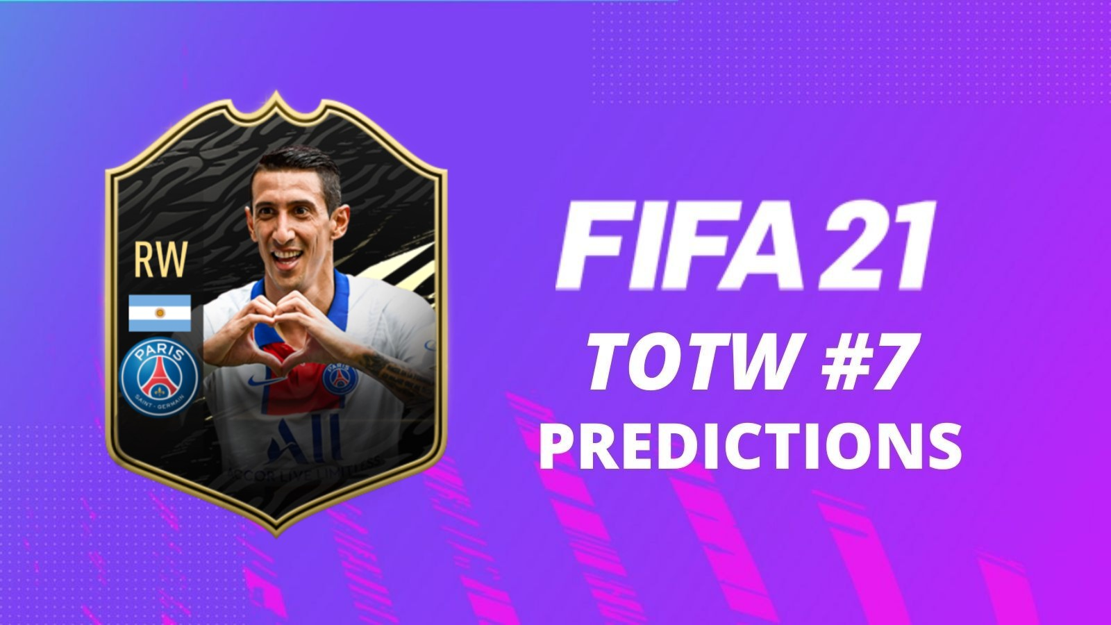 FIFA 21 Team of the Week 7 predictions