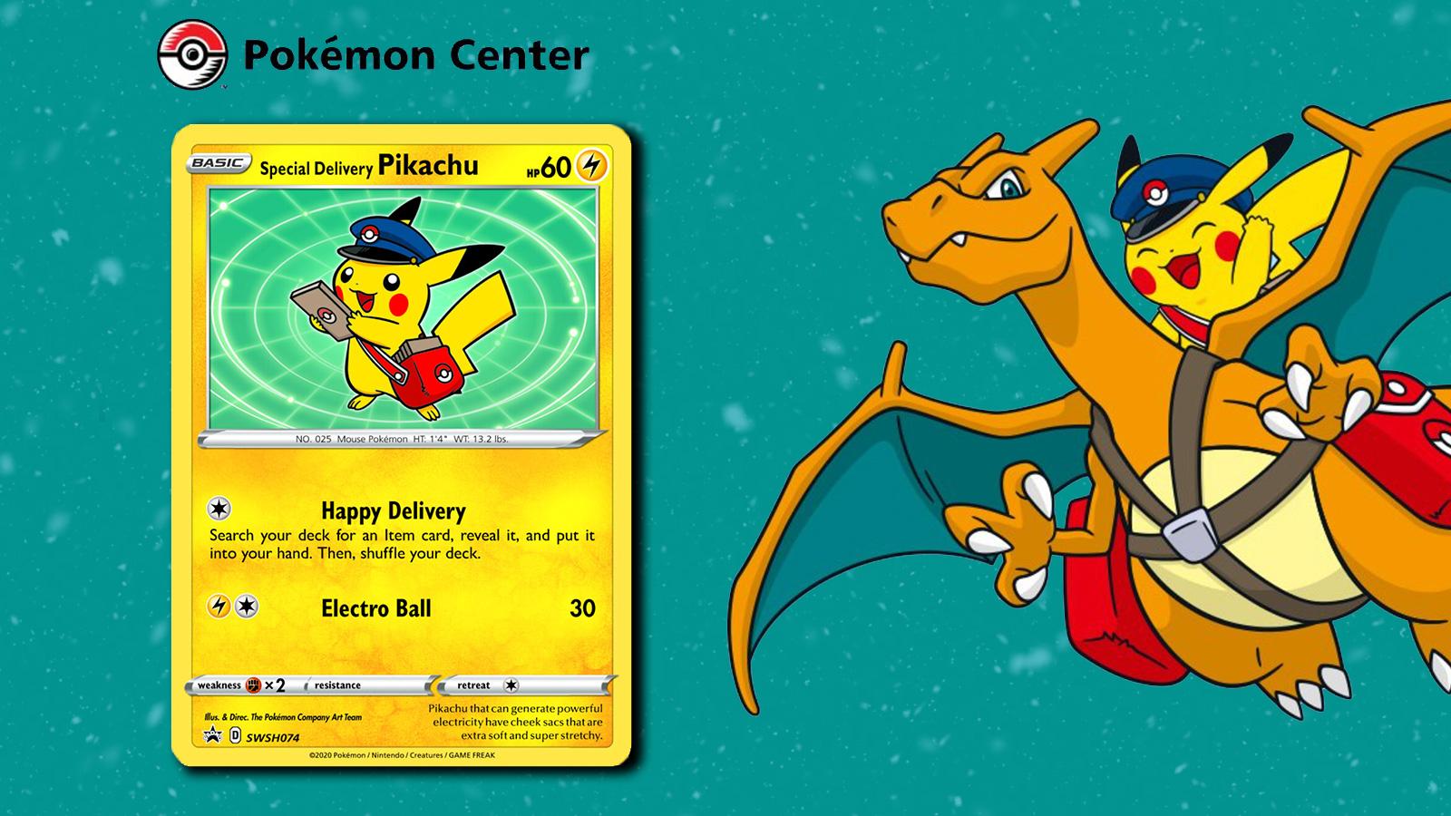 pokemon center rare promo