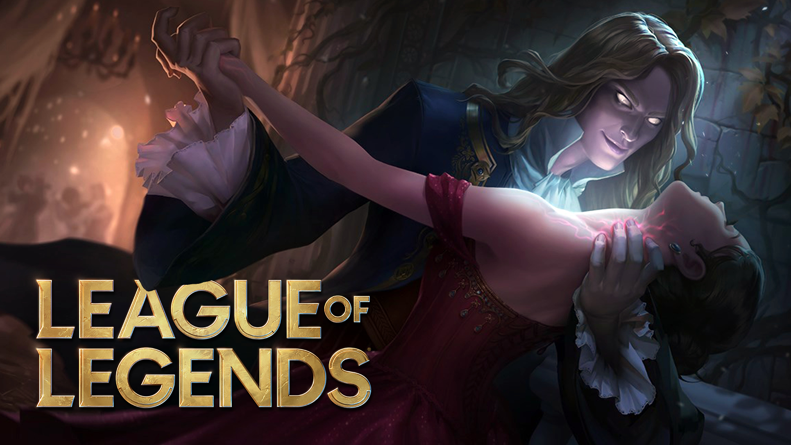 Vladimir goes for the kill in League of Legends.