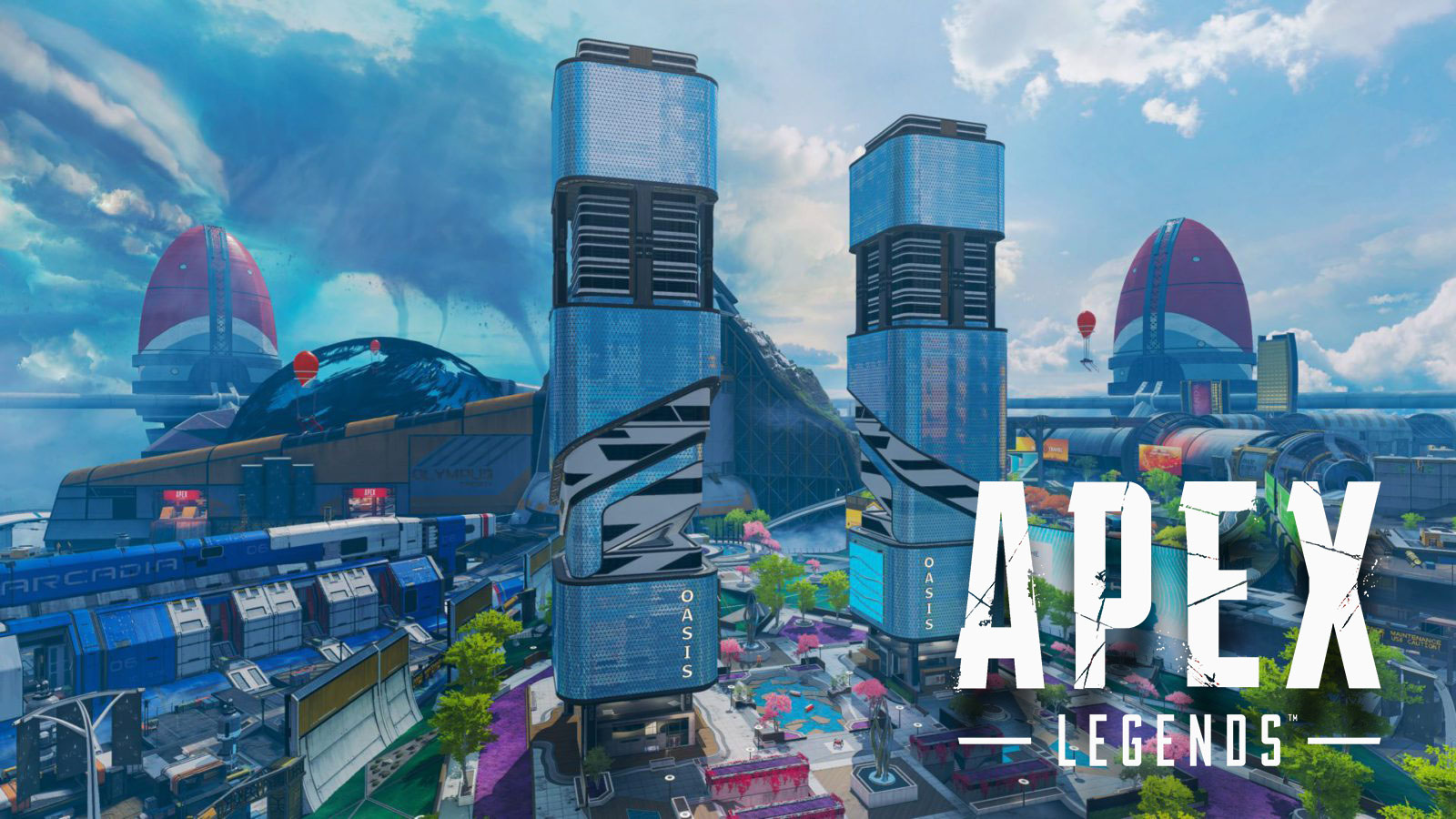 Apex Legends Olympus rooftop pathway