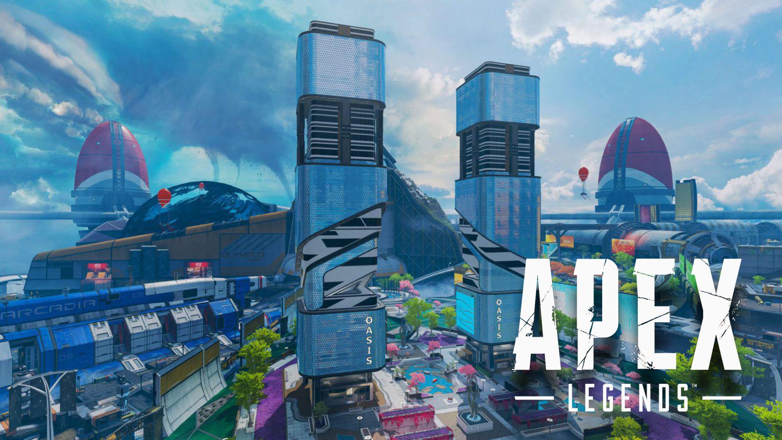 Apex Legends Olympus rooftop pathway