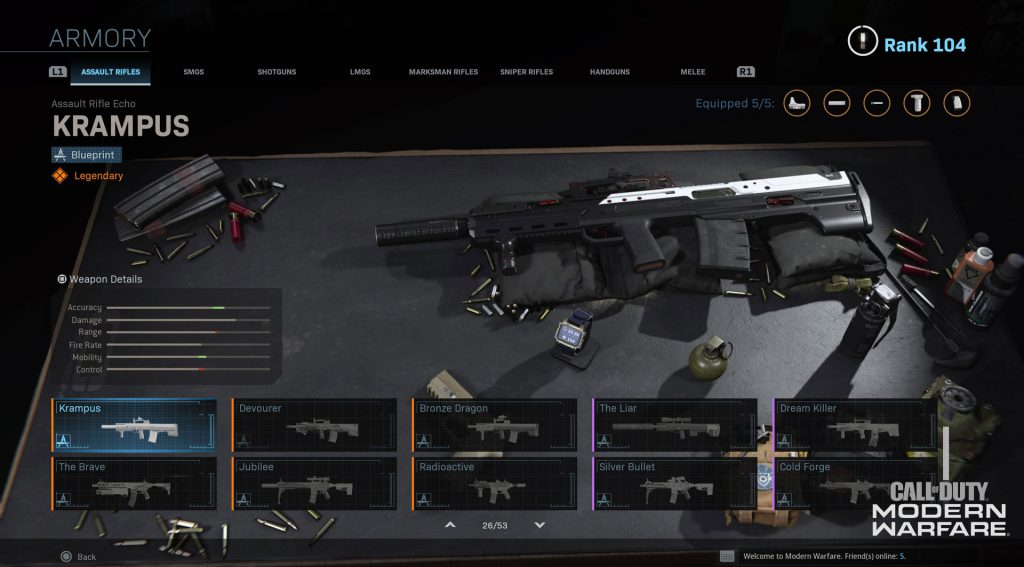 Warzone weapons