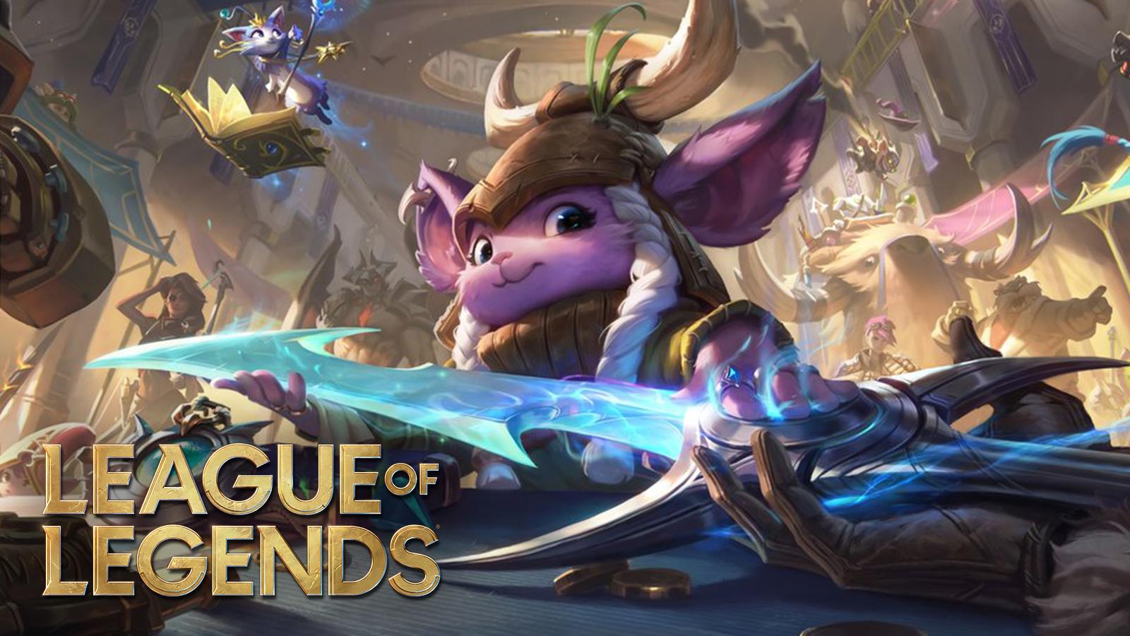 League of Legends shopkeeper welcomes in Season 11 in patch 10.23.