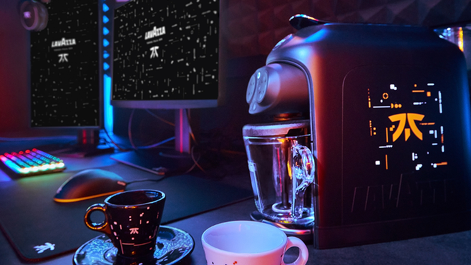 Fnatic Lavazza Partnership