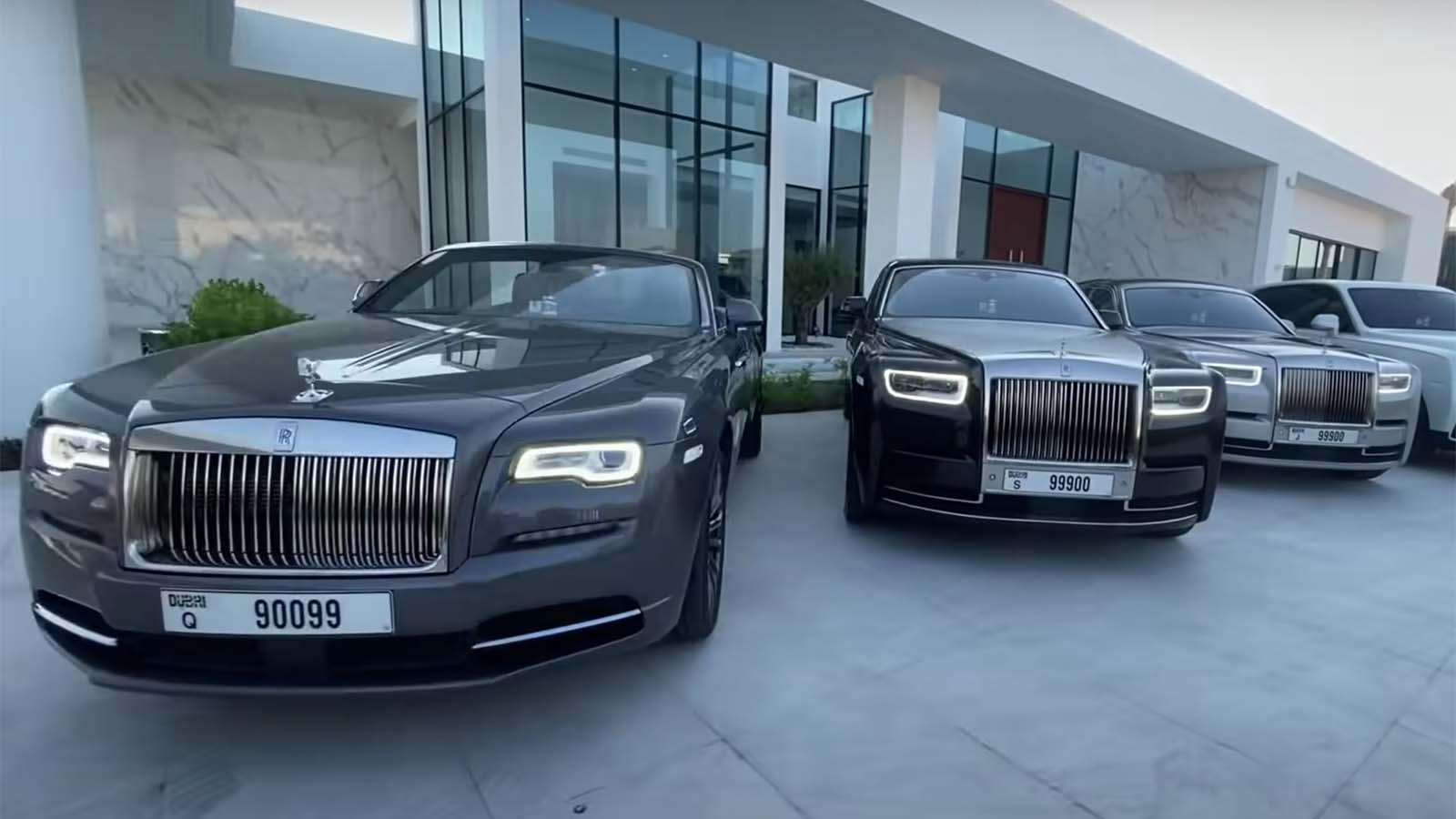 Dubai Rolls Royce Collection