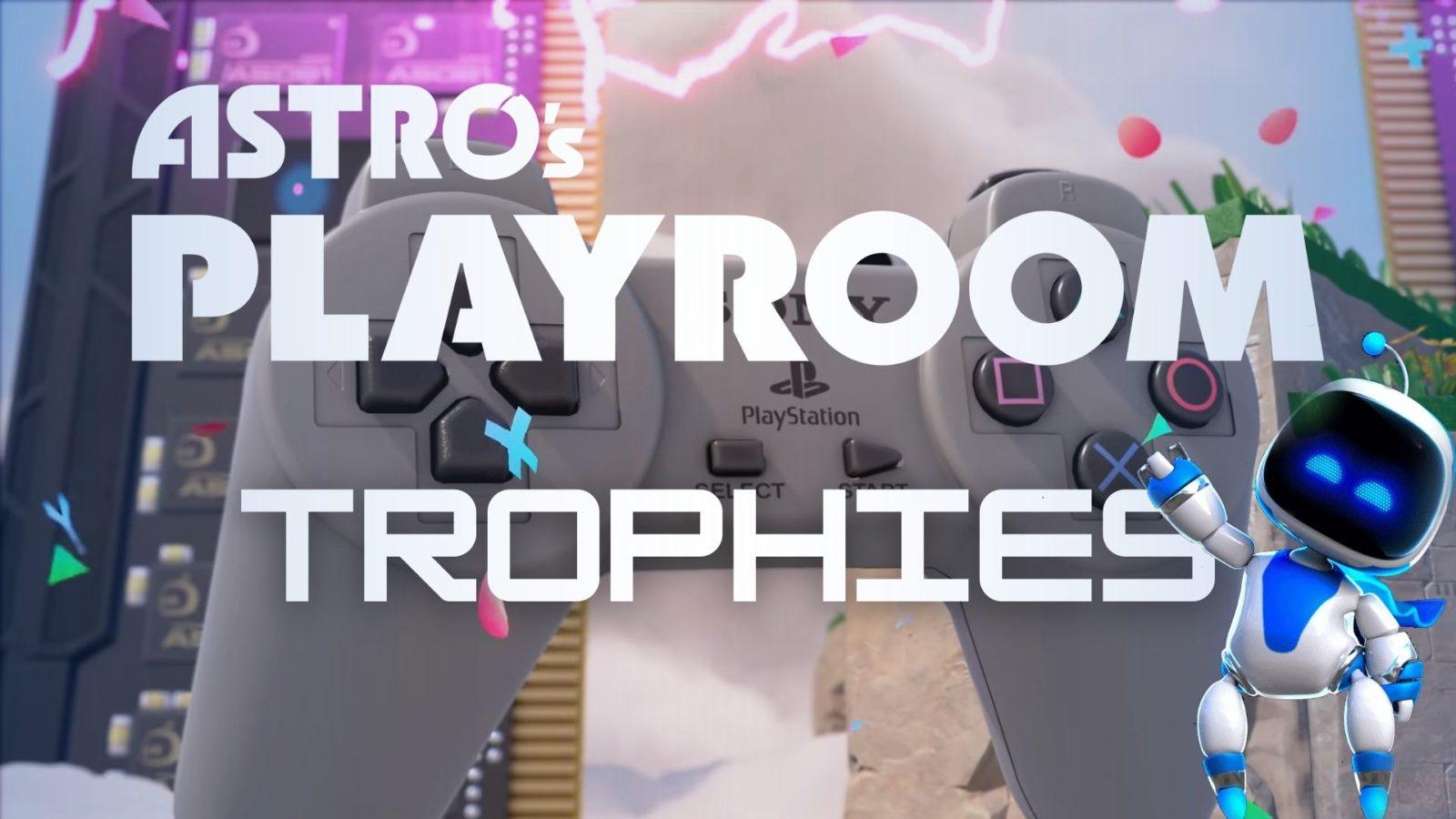 Astros playroom trophies free ps5