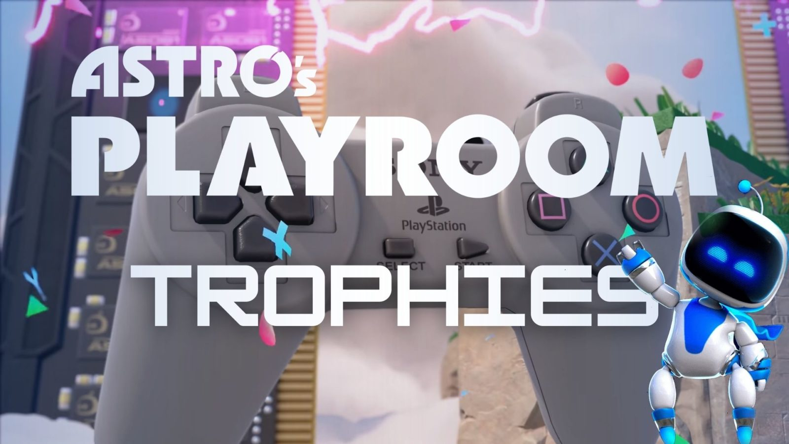 Astros playroom trophies free ps5