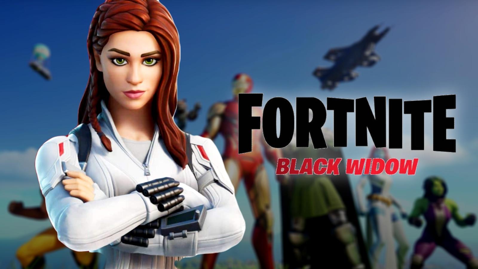 Fortnite Black Widow revealed snow suit