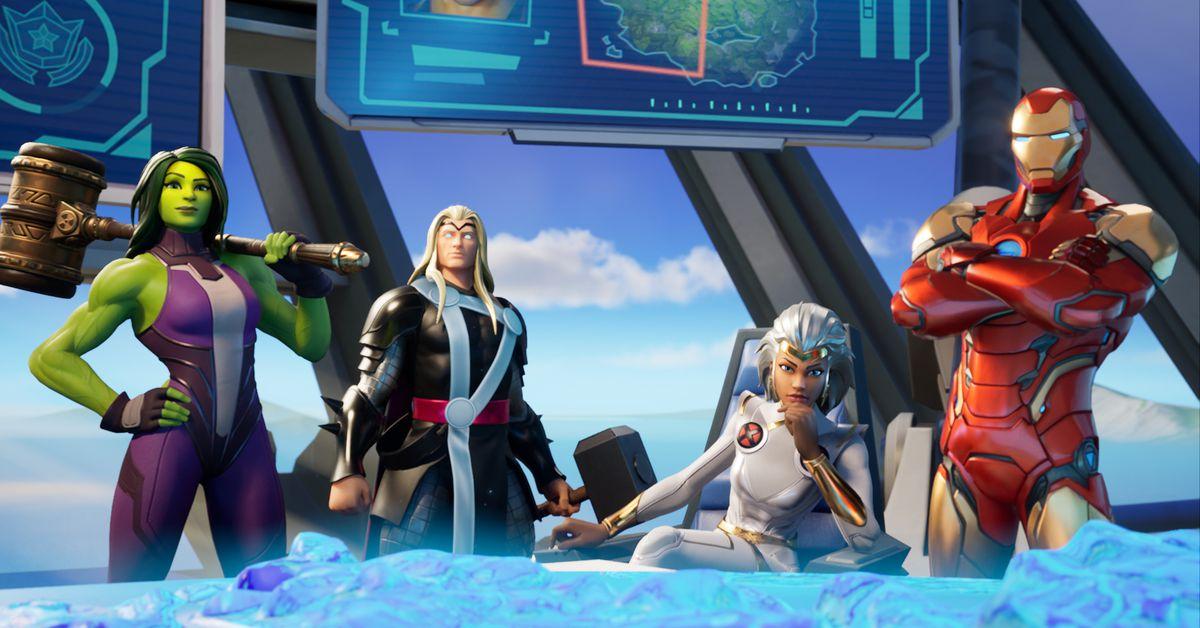 Fortnite marvel characters