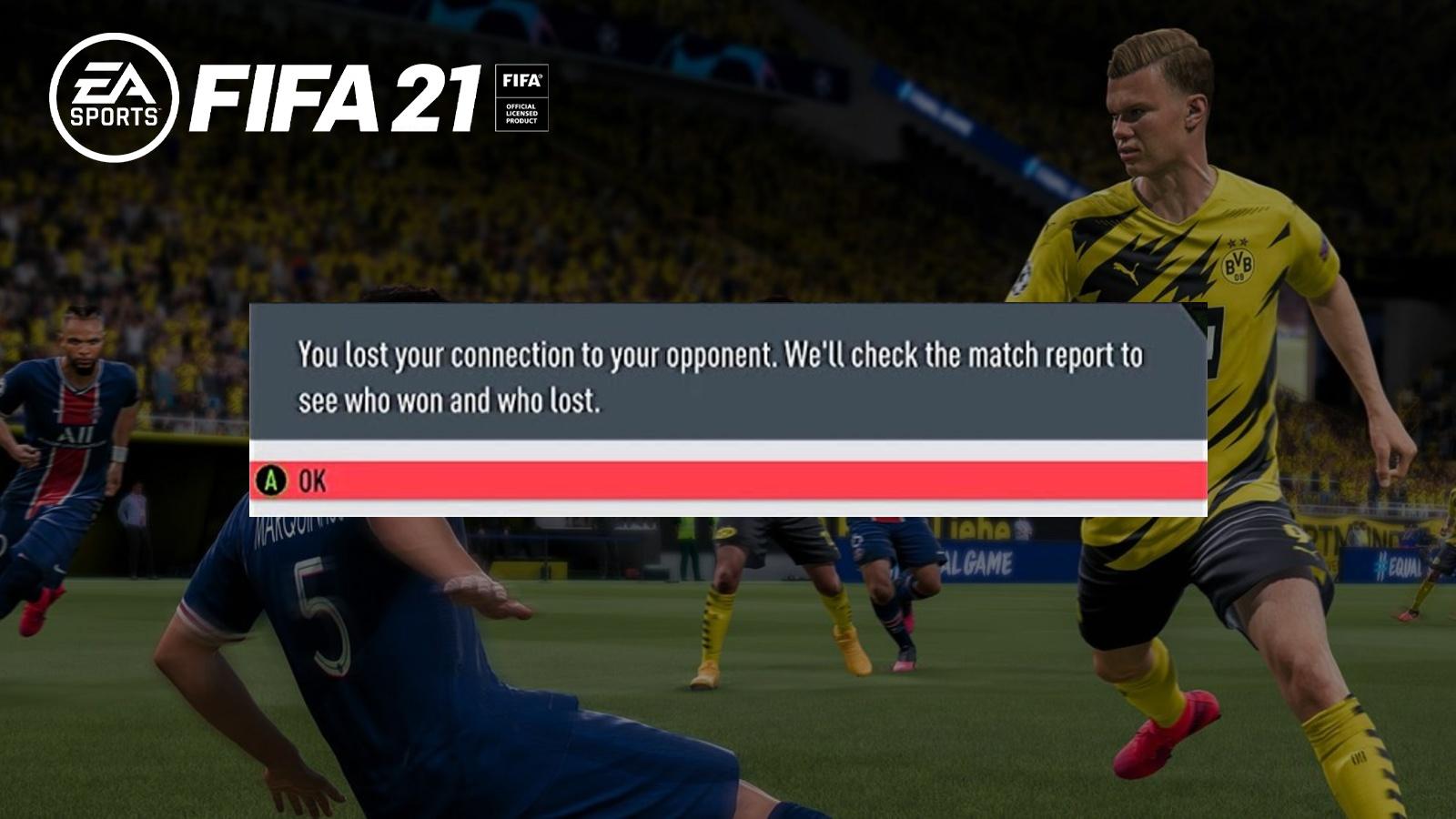 Erling Haaland FIFA 21 rage quit
