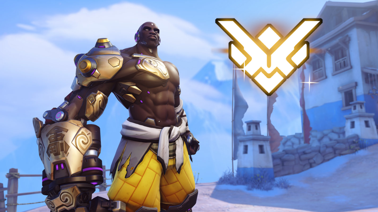 Doomfist starts at new rank in Overwatch