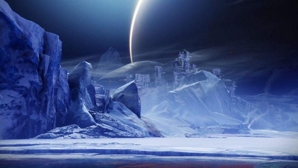 New Destiny 2 Beyond Light map location, Europa.