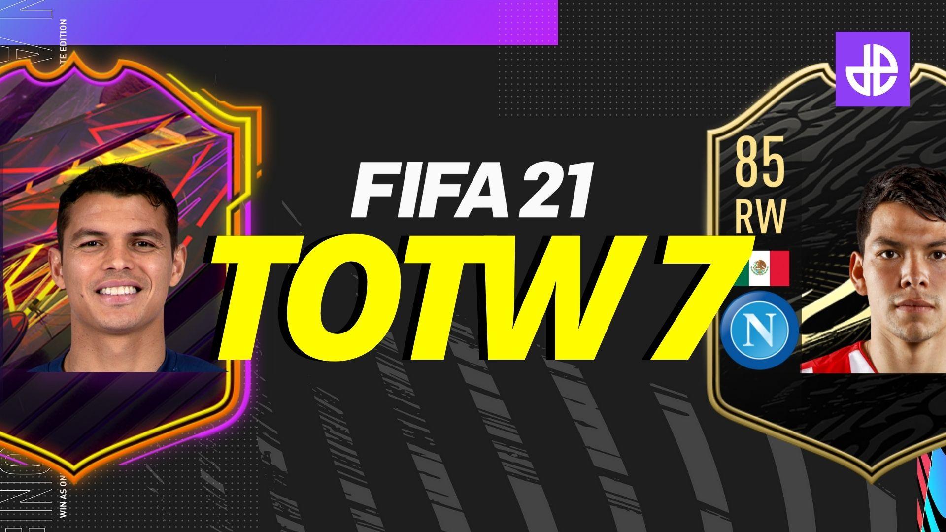 FIFA 21 totw 7 leak