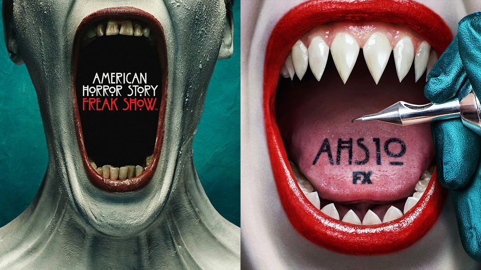 American Horror Story Season 10 and Freak Show posters
