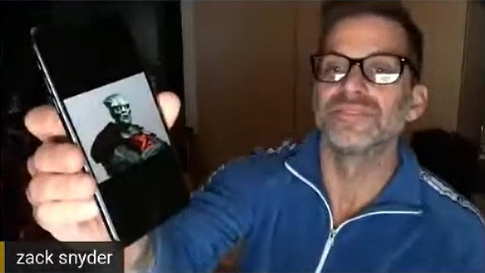Zack Snyder sneak peek at Martian Manhunter