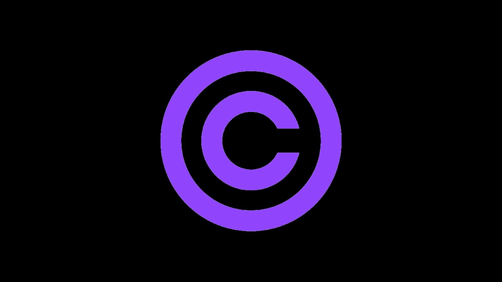 Twitch DMCA copyright logo