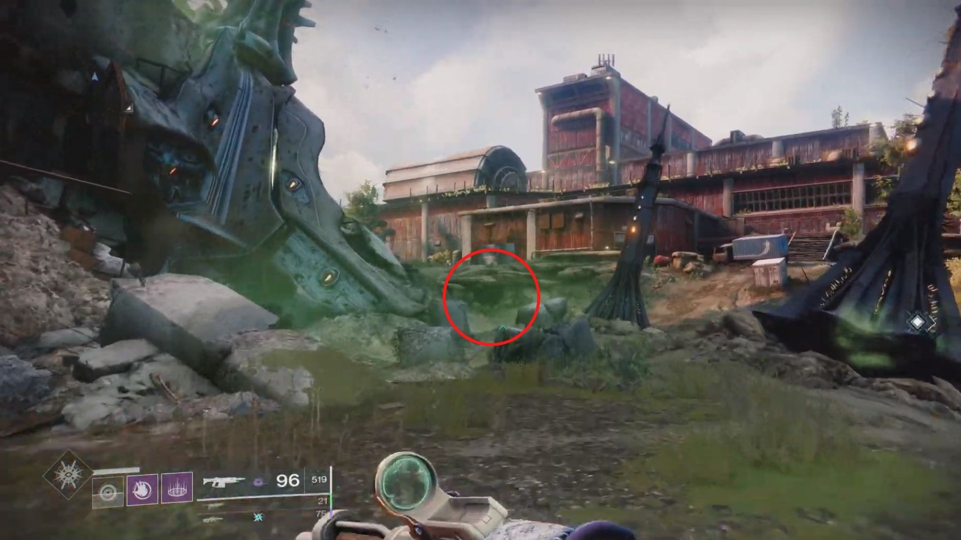loot cave easter egg in destiny 2 beyond light