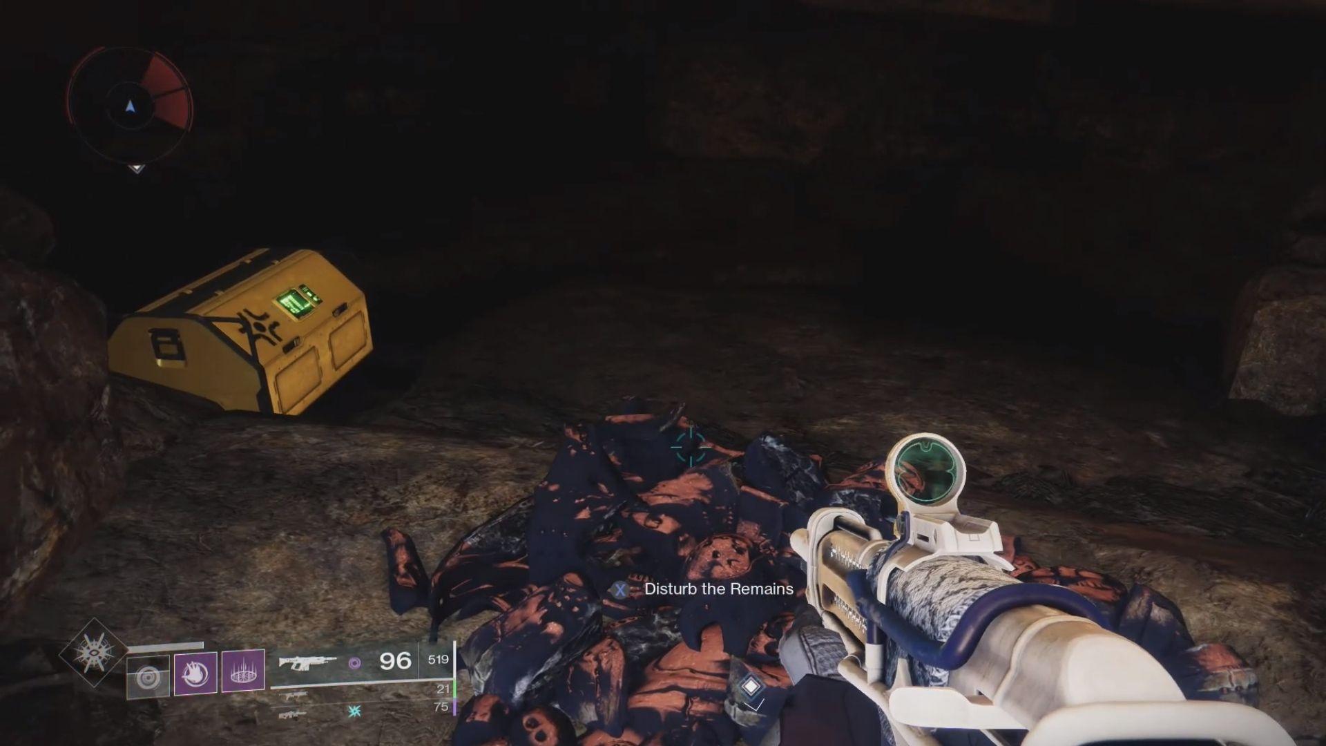 inside the loot cave easter egg in destiny 2 beyond light