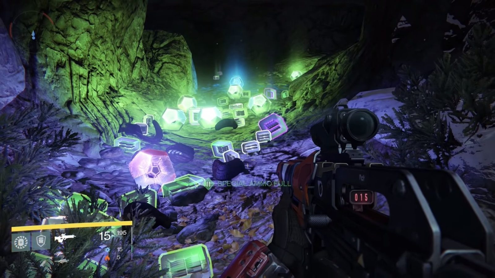 the original loot cave in destiny 1