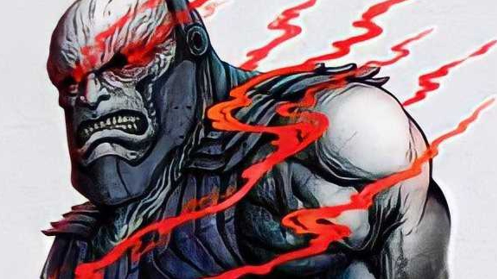 Zack snyder's Darkseid