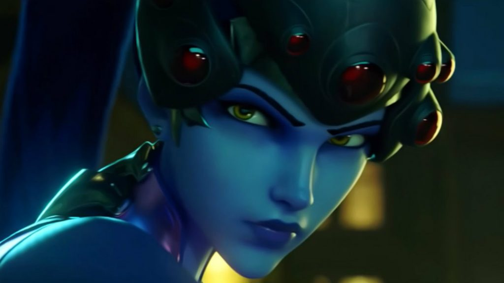 Widowmaker glares