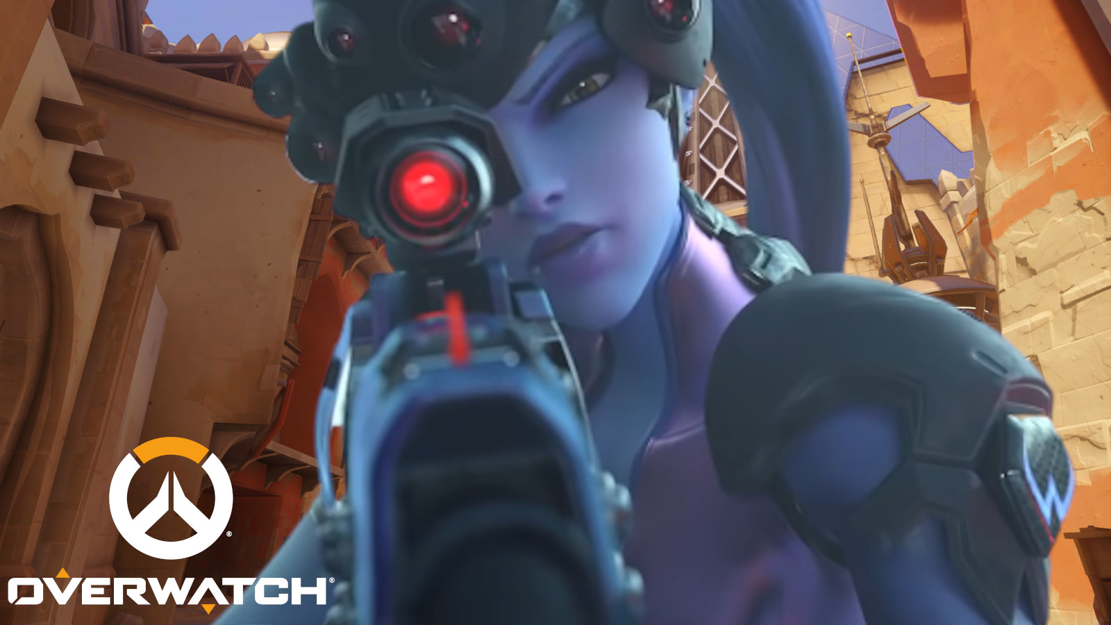 Widowmaker scoped in