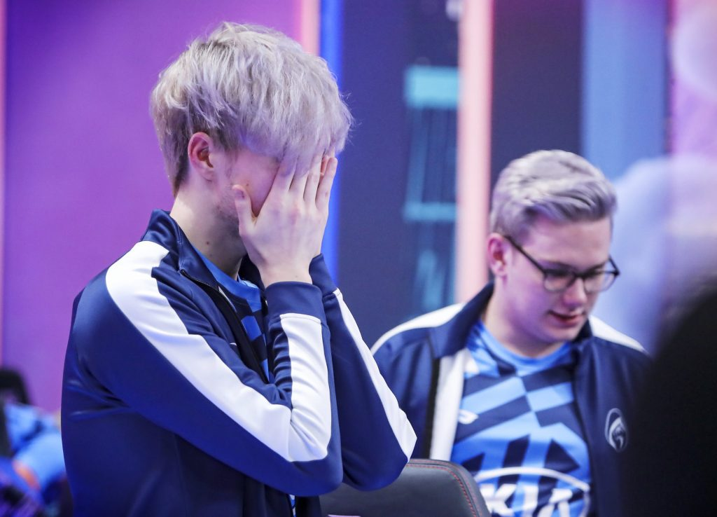 Finn struggled to find his footing at Worlds with Rogue last month.